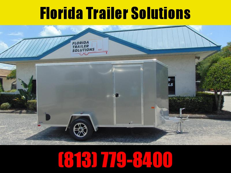 CLEARANCE!  NEO Trailers 6X12 Aluminum Enclosed Cargo Trailer