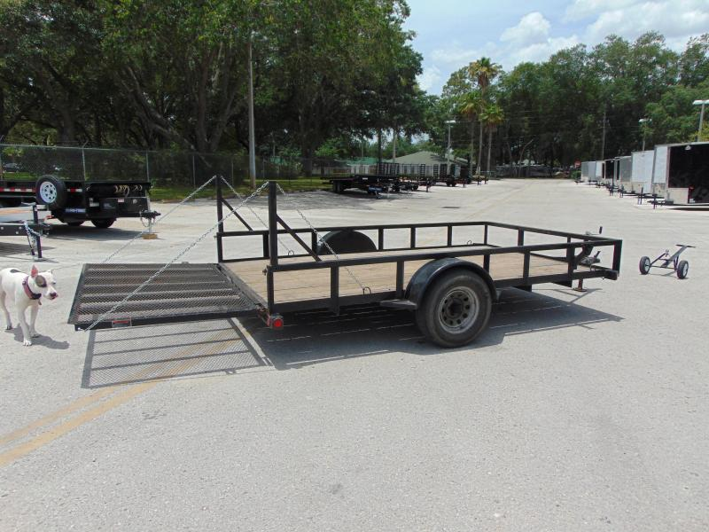 2015 Pre-Owned Load Trail 7X12 Utility Trailer
