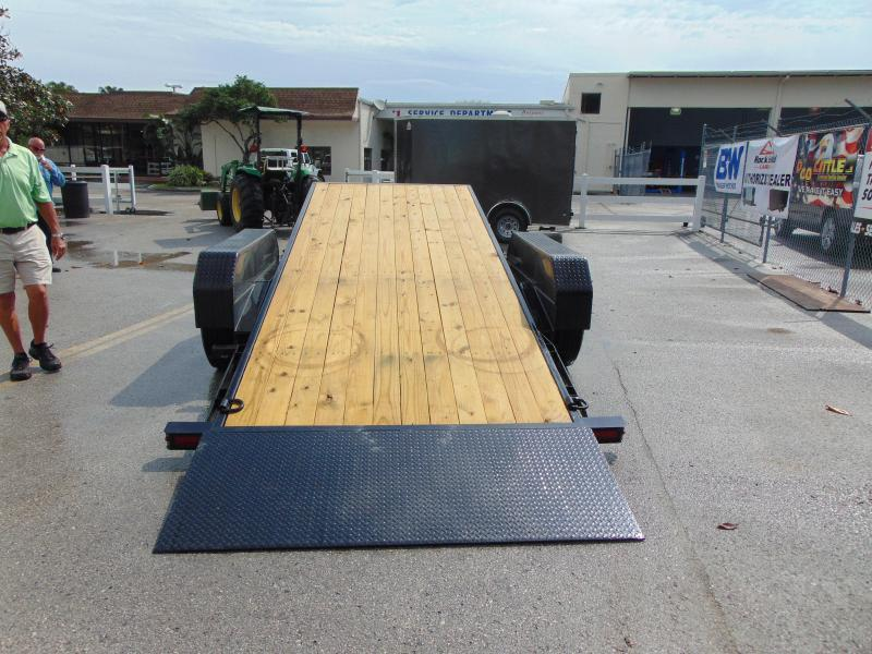 New Sure-Trac 7X18+4 Tilt Bed 16K Equipment Trailer