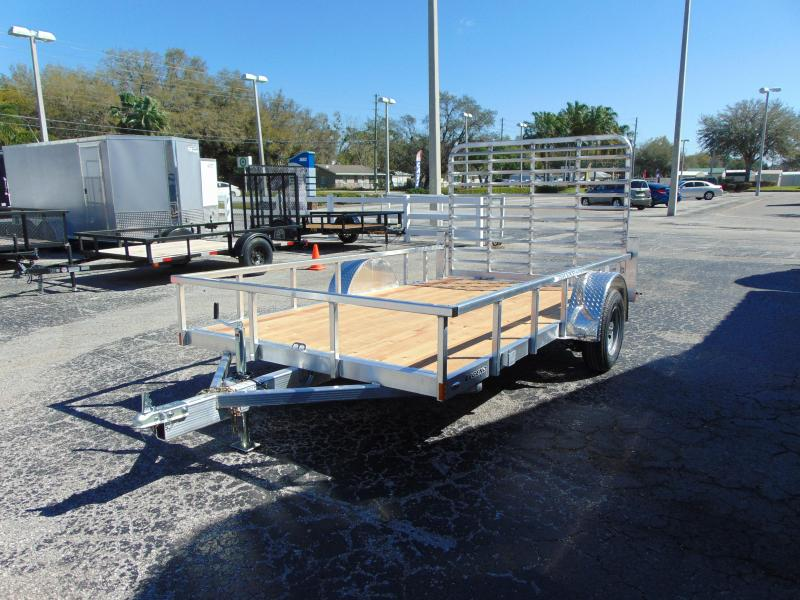 New Legend Trailers 7x12 All Aluminum Open Deluxe Utility Trailer