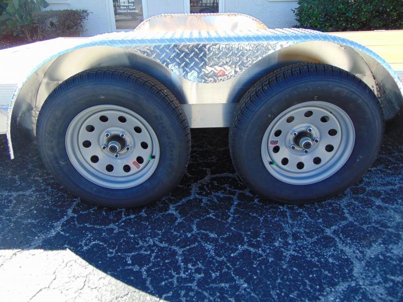 2019 Legend Mfg 7x18 OCH 7k Aluminum Car Hauler