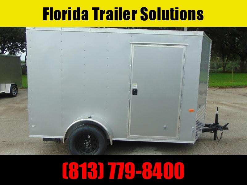 New Rock Solid Cargo 6X10SA Enclosed Cargo Trailer