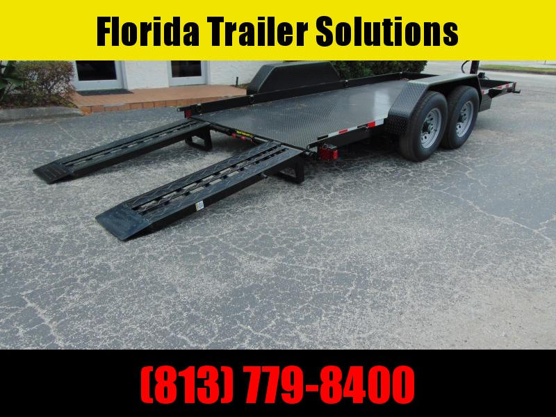 New Compass 7X16 14kForklift Equipment Trailer