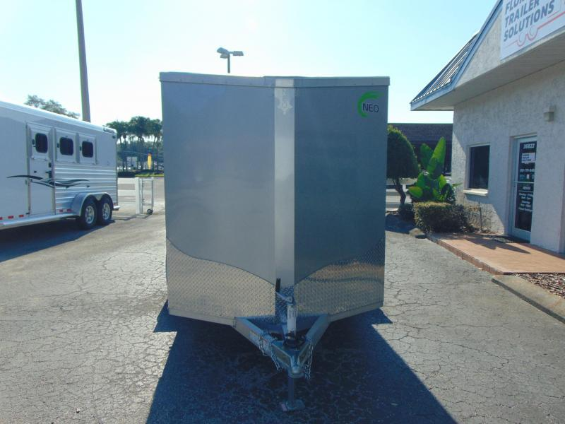 New NEO Trailers 6X10 Aluminum Enclosed Cargo Trailer