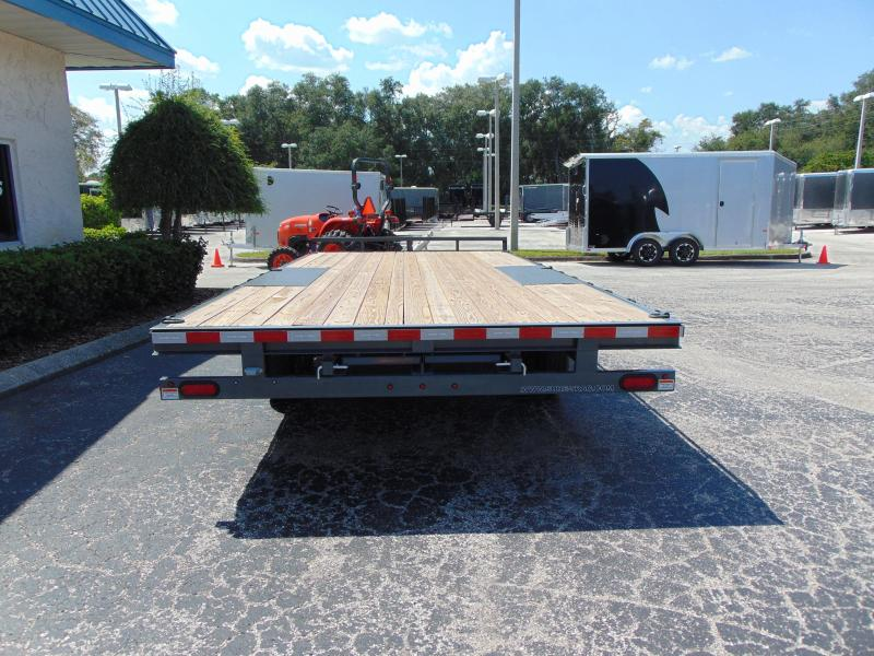 New Sure-Trac 8.5x18 Low Pro 10k Flatbed Deckover Equipment Trailer