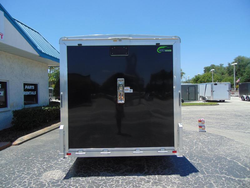 "2019 NEO Trailers 7.5X16 Aluminum Enclosed Cargo / Motorcycle Trailer 12"" Addtl Height"