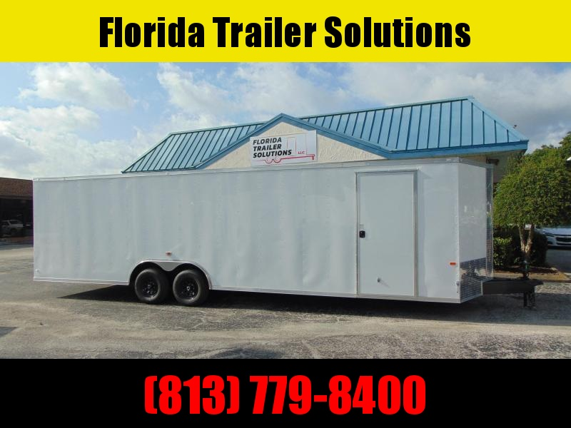 New Rock Solid Cargo 8.5X28 Car / Racing Trailer