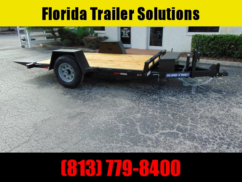 New Sure-Trac 78X12 Tilt Bed 7.8K Equipment Trailer