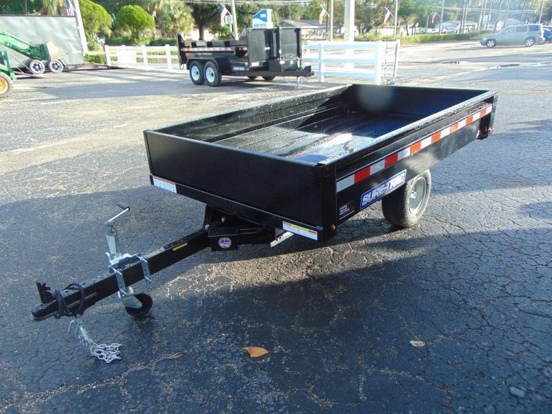 2019 Sure-Trac 4.5 x 8 Utility Dump Trailer