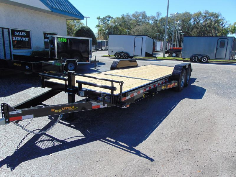2019 Doolittle Trailer Mfg 82x22 EZ Loader GT 16+6 Flatbed Tilt Trailer