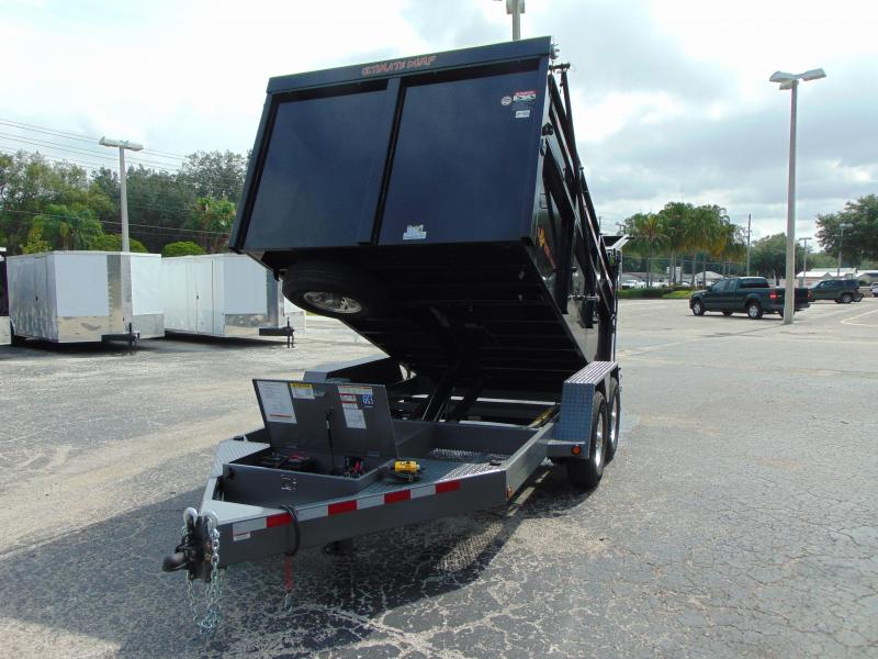 New B-Wise 82X12 Ultimate Dump Trailer