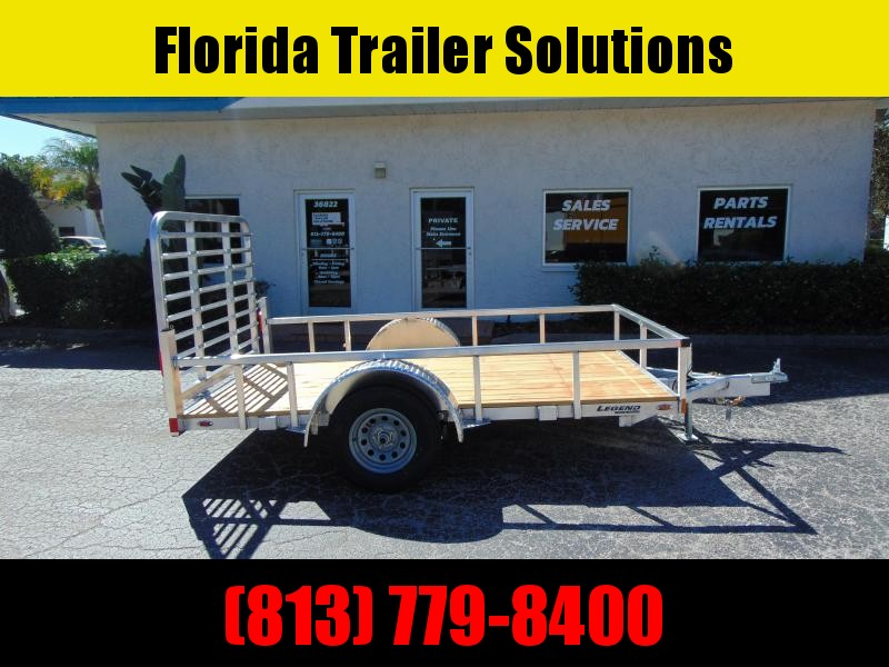 New Legend Trailers 6X10 All Aluminum Open Deluxe Utility Trailer