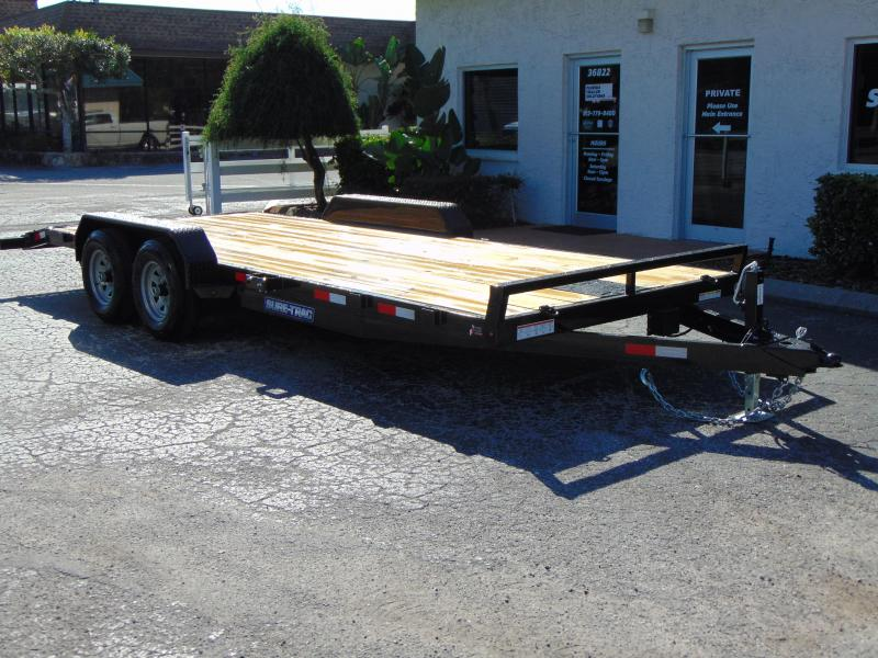 New Sure-Trac 7X20 Wood Deck 10k Car Hauler