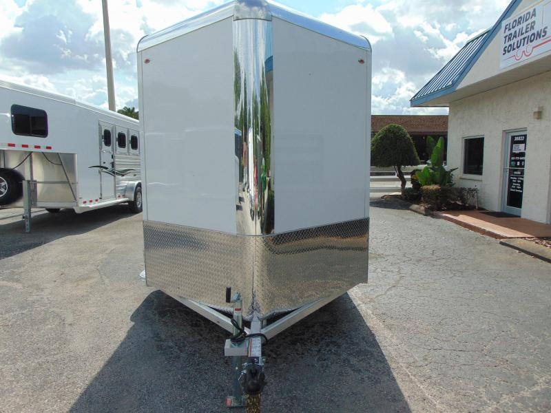 CLEARANCE! 2019 Legend Manufacturing 7X23 Deluxe V-Nose All Aluminum Enclosed Cargo Trailer