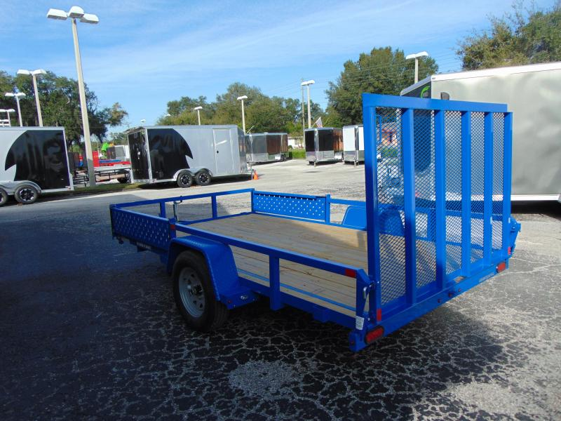 New Sure-Trac 7X12 Tube Top 3K ATV Trailer