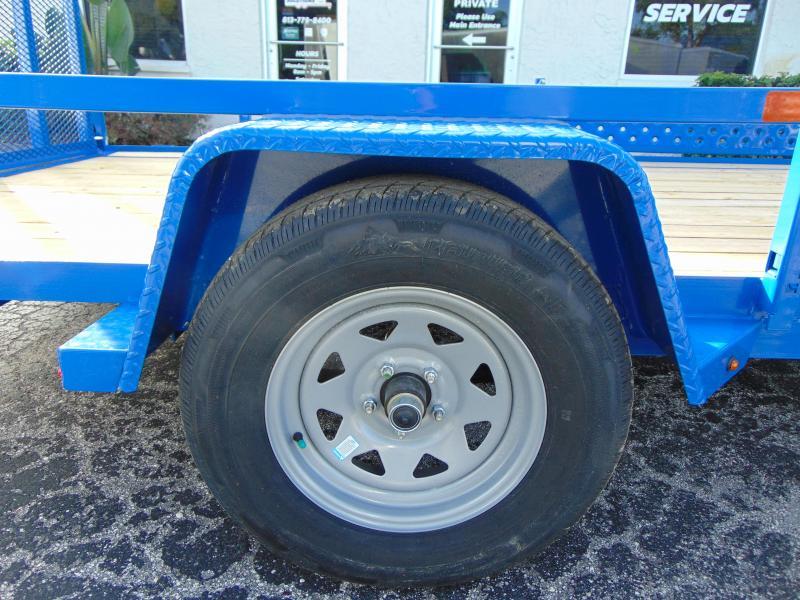 New Sure-Trac 7X12 Tube Top 3K ATV Trailer