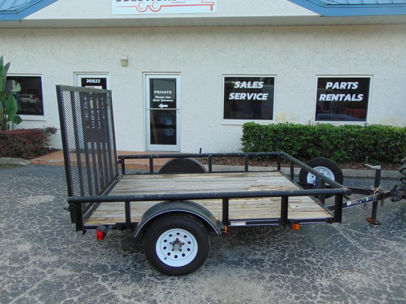 2017 Pre-Owned Carry-On 6X8 Utility Trailer