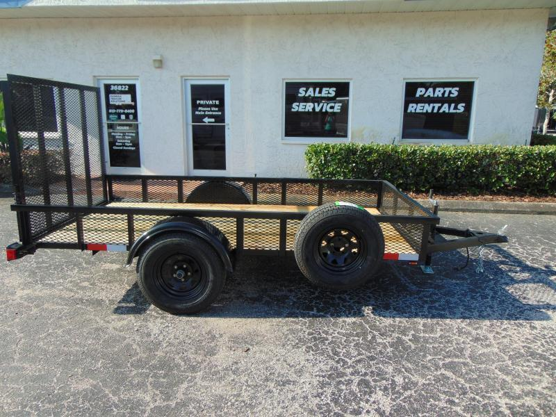 New Worldwide Trailer 5X10 Utility Trailer w/1' Mesh Sides
