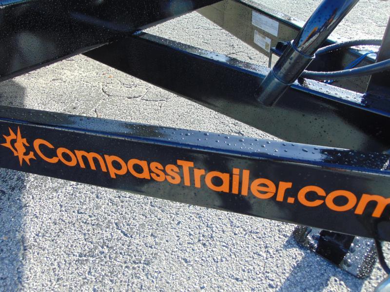 New Compass 7X18 14k Equipment Trailer