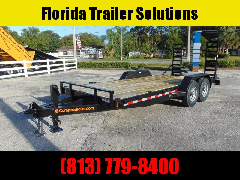 New Compass 7X18 14k Equipment Trailer