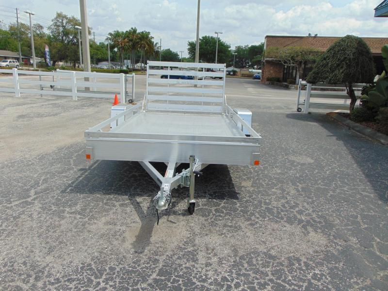New Bear Track 76X144 All Aluminum Utility Trailer