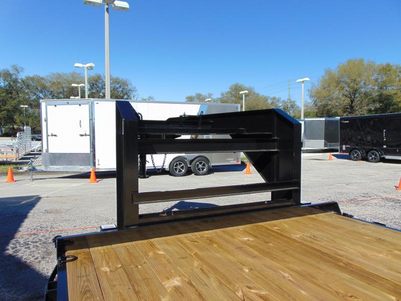 New Sure-Trac 8.5 x 22+4 Beavertail Gooseneck 15k Equipment Trailer