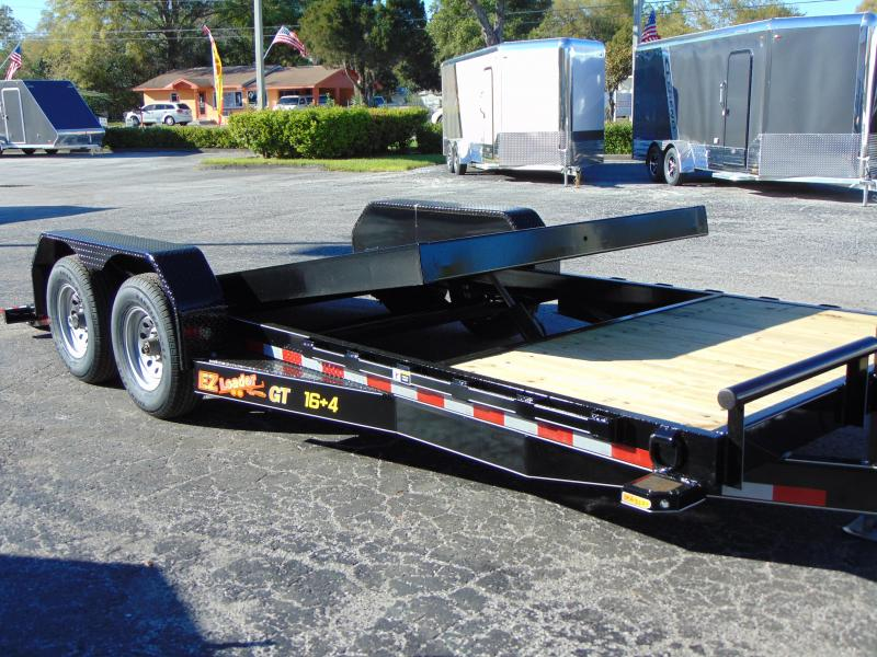 2019 Doolittle Trailer Mfg 82x20 EZ Loader GT 16+4 Flatbed Tilt Trailer