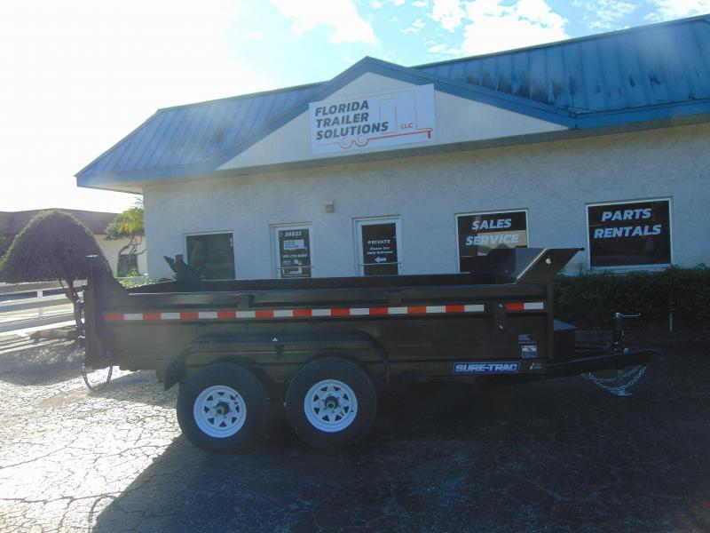 New Sure-Trac 72X12 Low Profile 10k Dump Trailer