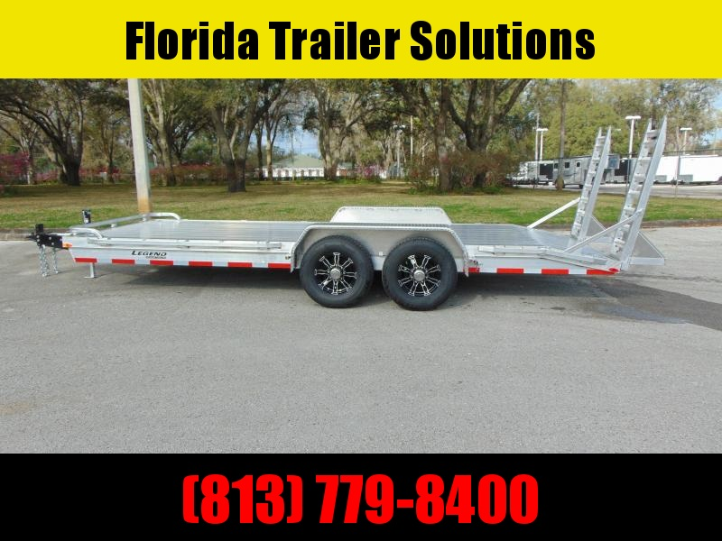 New Legend Mfg 7X20 Heavy Duty 14k Equipment Trailer