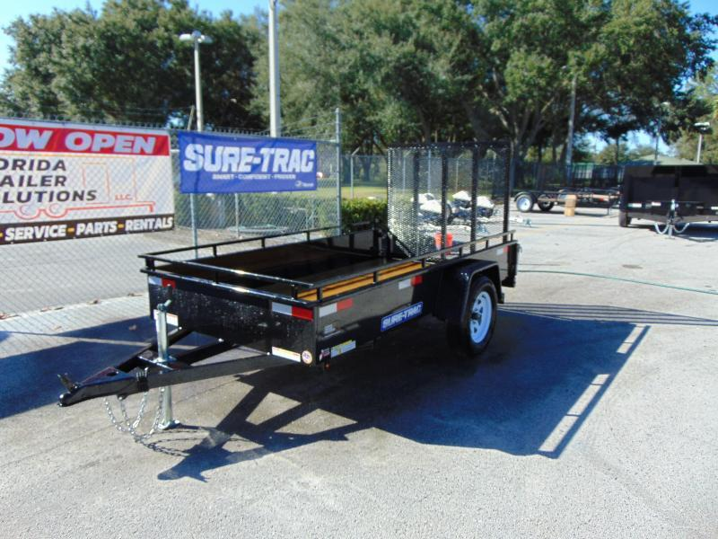 New Sure-Trac 5X10 High Side 3k Utility Trailer