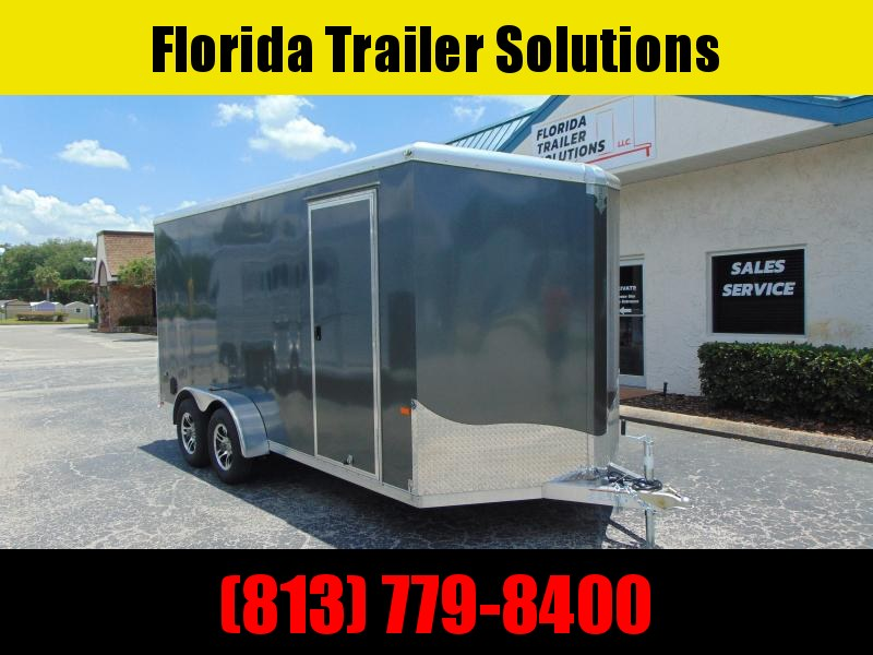 CLEARANCE!  2019 NEO Trailers 7X16 Aluminum Enclosed Cargo Trailer