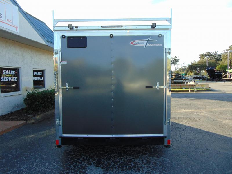 2019 Cross Trailers 7X16TA Contractor/Tool Crib Enclosed Cargo Trailer