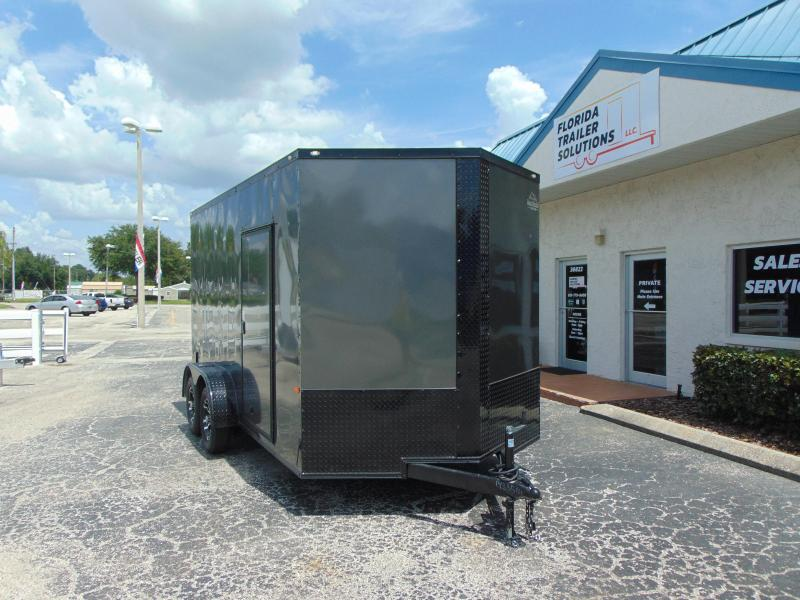 New Rock Solid Cargo 7X14TA Enclosed Cargo Trailer w/7' Interior Height