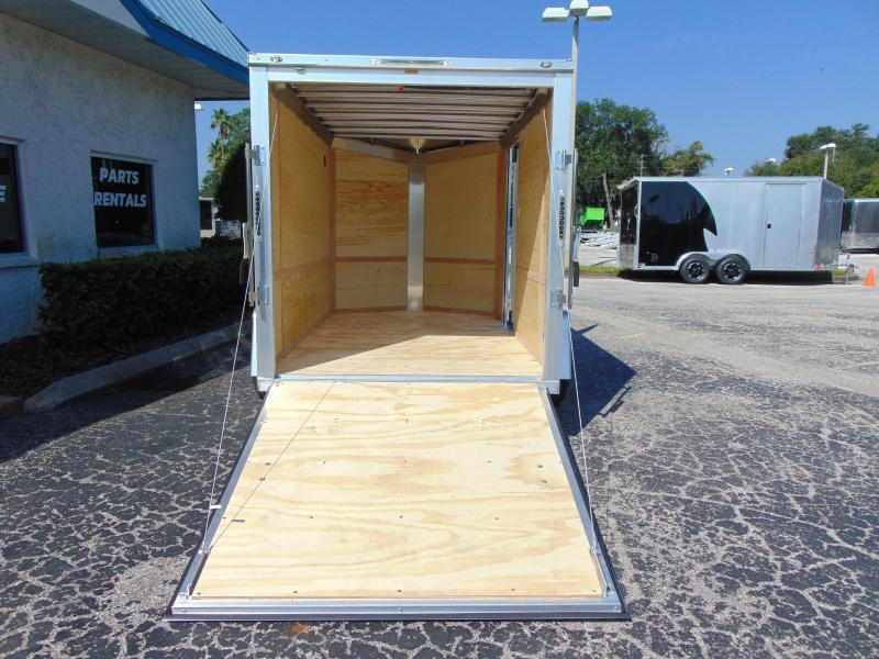 New NEO Trailers 6X10 Aluminum Enclosed Cargo Trailer