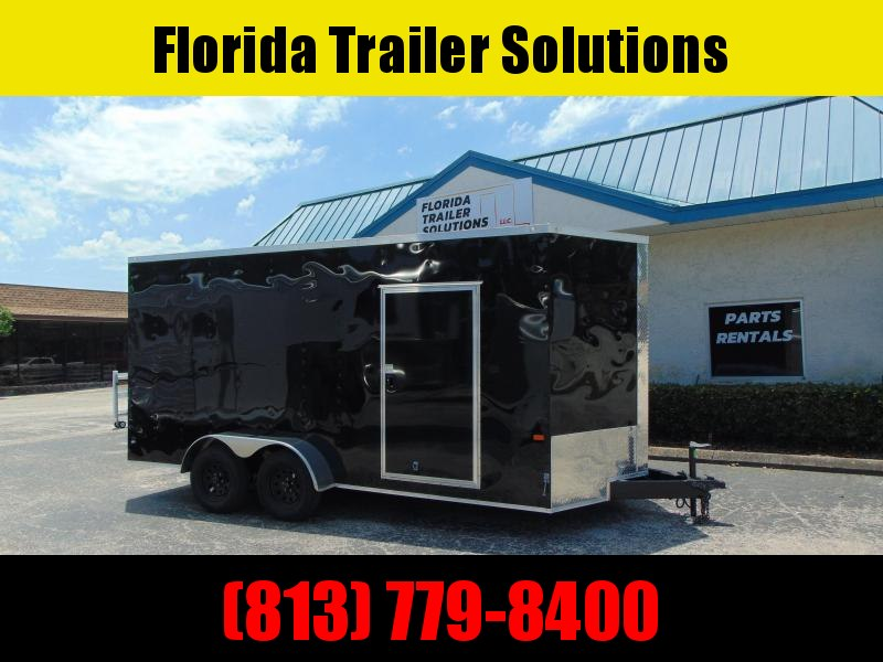 CLEARANCE! 2019 Rock Solid Cargo 7X16TA Enclosed Cargo Trailer w/7' Interior Height