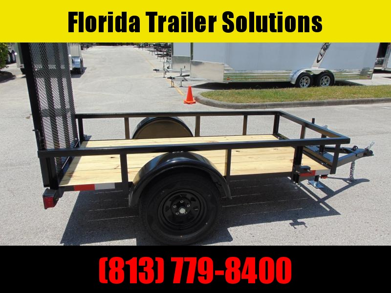 2019 Pre-Owned Worldwide Trailer 4X8 Utility Trailer
