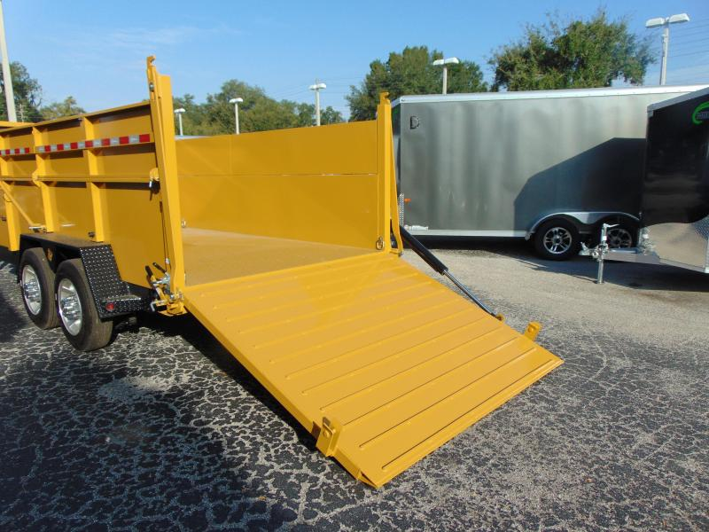 New B-Wise 82X16 Ultimate 17.6k Dump Trailer