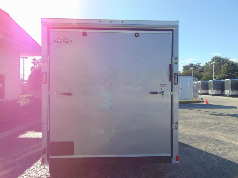 New Rock Solid Cargo 7X14TA Enclosed Cargo Trailer w/ 7' Interior Height