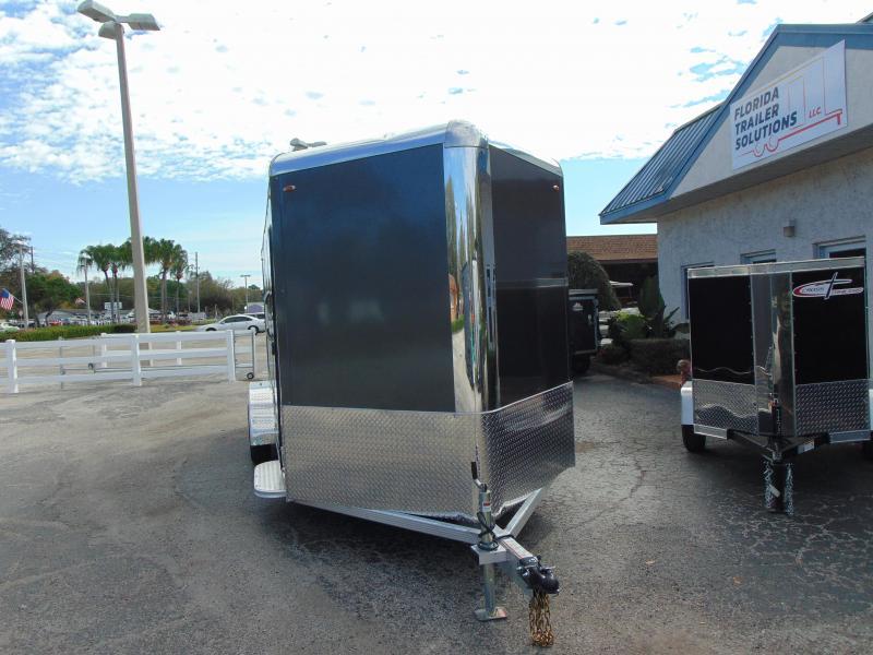 New Legend Manufacturing 7X21 Aluminum Enclosed Cargo Trailer