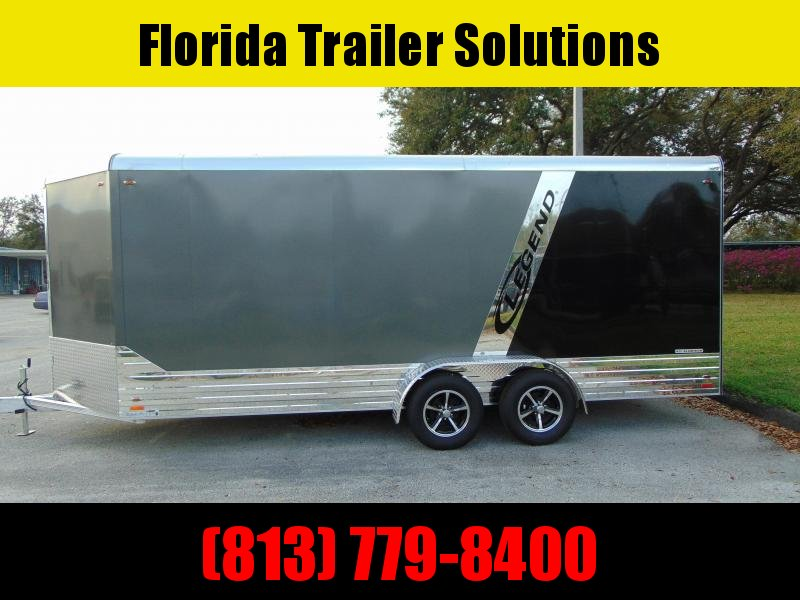 CLEARANCE! Legend Manufacturing 7X21 Aluminum Enclosed Cargo Trailer