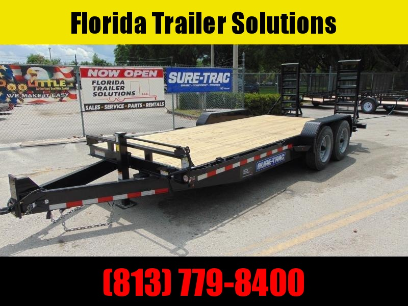 New Sure-Trac 7X18 14K Equipment Trailer
