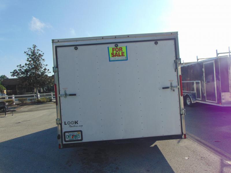 2014 Look Trailers 8.5X20 10k Enclosed Cargo Trailer