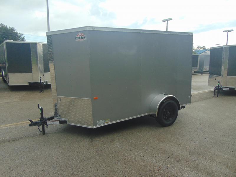 New Rock Solid Cargo 6X10SA Enclosed Cargo Trailer