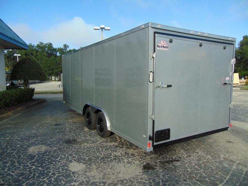 New Rock Solid Cargo 8.5X20 7k Cargo/Enclosed Trailer