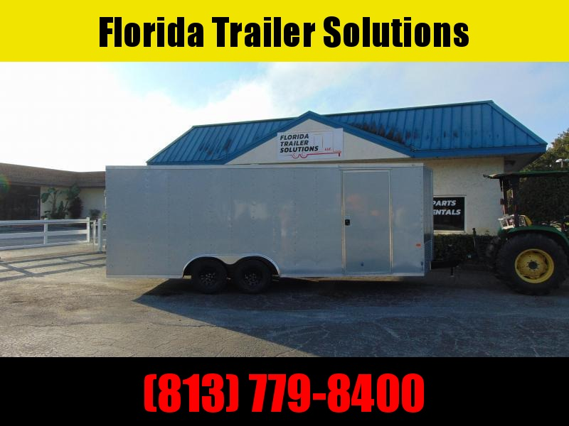 New Rock Solid Cargo 8.5X20 7k Cargo/Enclosed Trailer