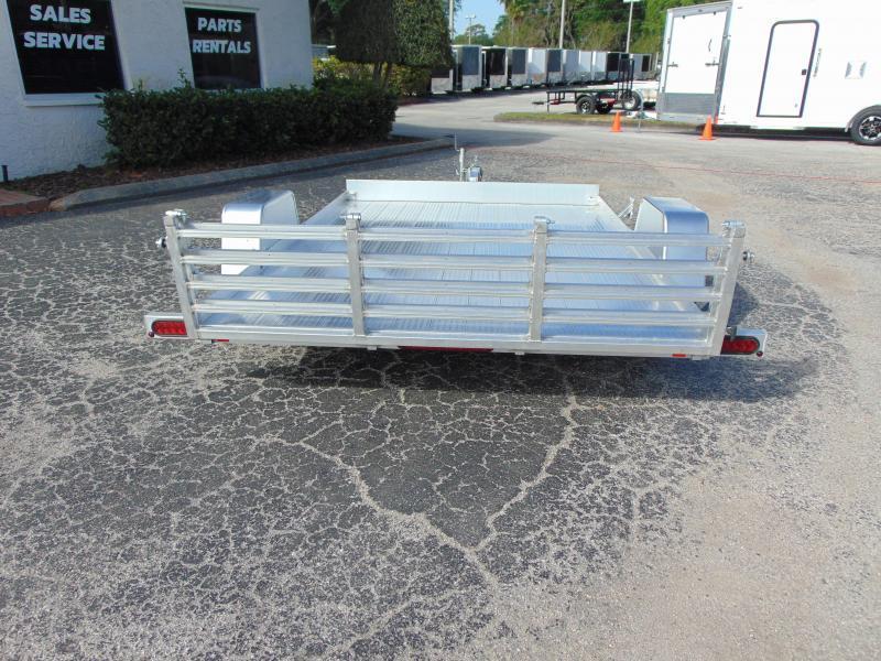 New Bear Track 65X120 All Aluminum Utility Trailer