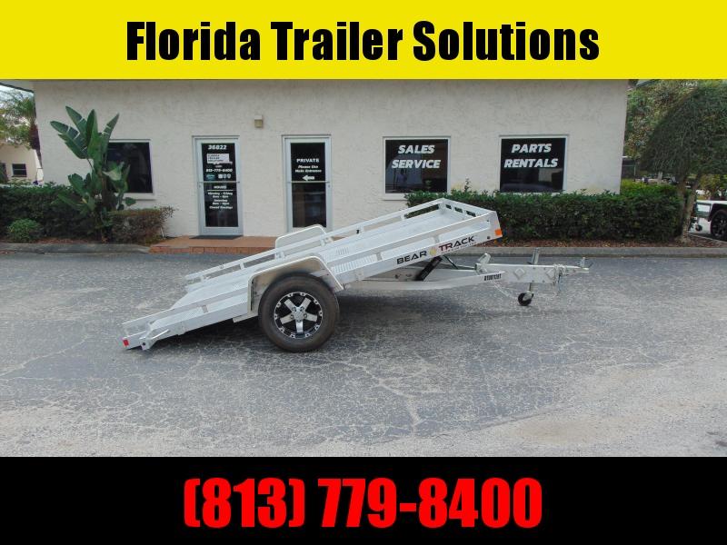 New Bear Track 81X128 All Aluminum Tilt Utility Trailer
