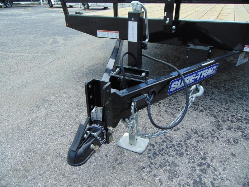 New Sure-Trac 8.5X20 10k Flat Deck Deckover Equipment Trailer