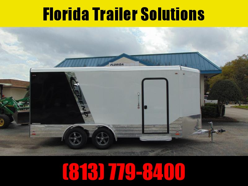 CLEARANCE! Legend Manufacturing 7X19 Deluxe V-Nose All Aluminum Enclosed Cargo Trailer