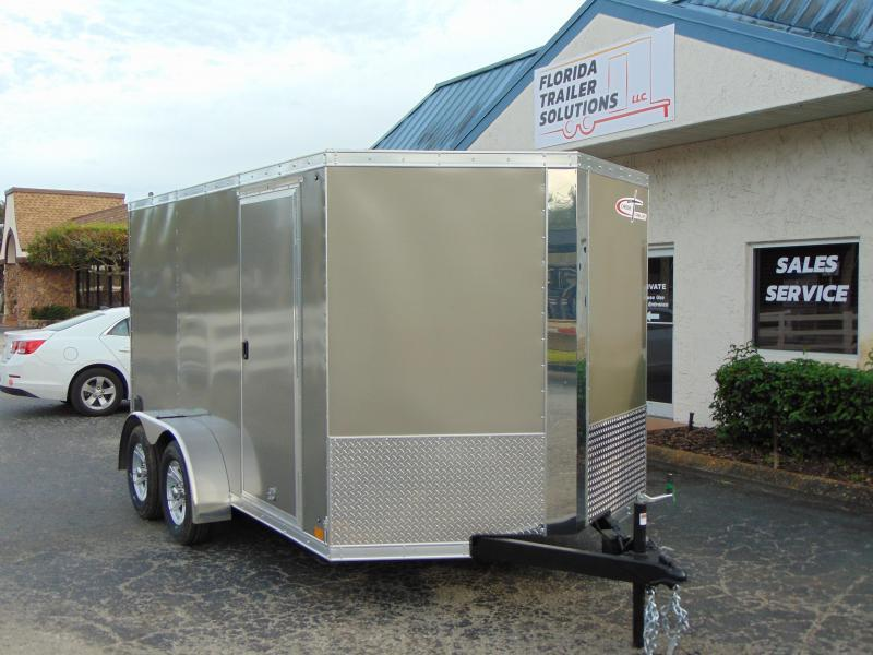 2019 Cross Trailers 7X12TA Enclosed Cargo Trailer